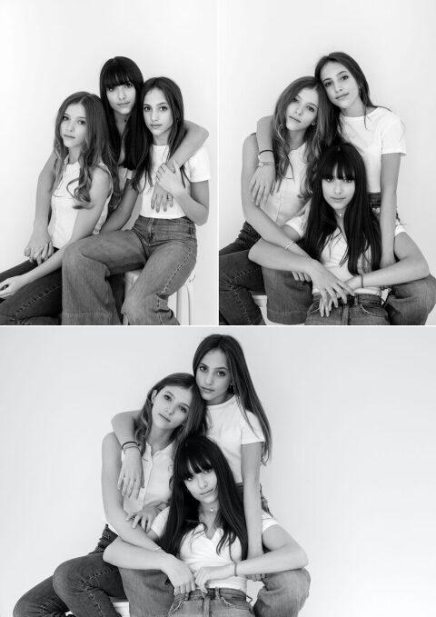 ritratti di tre gemelli - elena k studio Milano