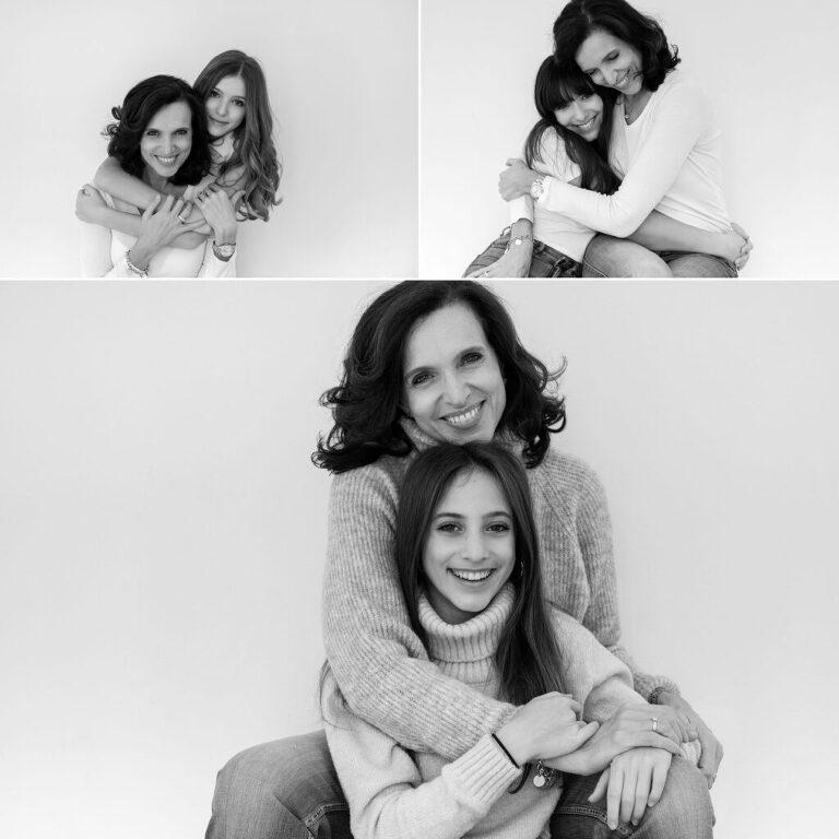 fotografa di Mamma e figlia Milano